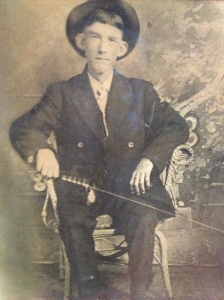 This photograph was taken on July 4th, 1910, three weeks before my grandfather's 20th birthday. It sat on the mantle in my grandparents' bedroom until my grandmother's death in 1974. It was then passed on to me as my grandfather had requested many years earlier. Now prominently displayed on my mantle, it is one of my most treasured possessions.