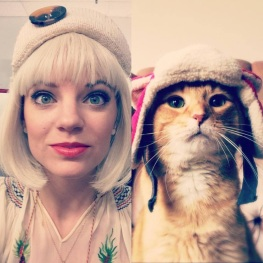 Jessie found a cat counterpart to the character she portrayed in a recent theater production.
